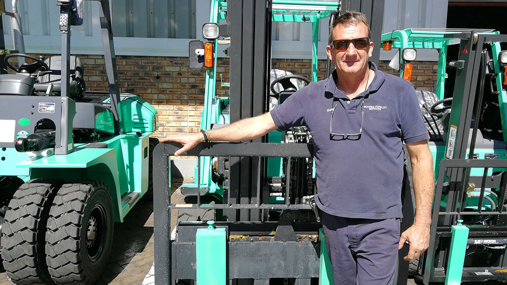 Contact Moore's Forklift Services
